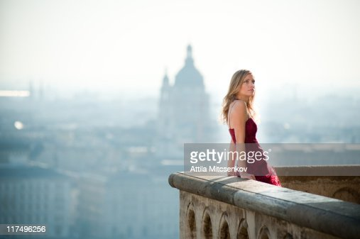 Girl with Castle District