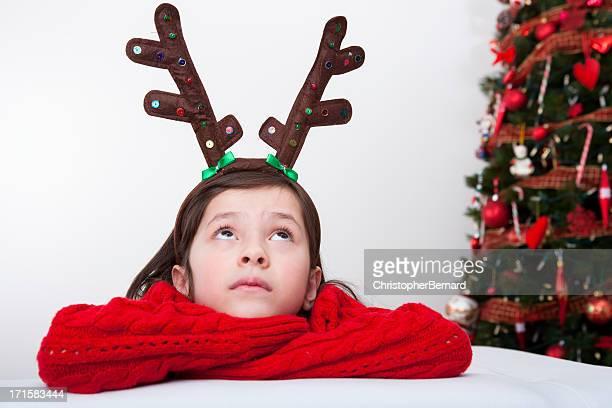 Fille de Noël Ramure