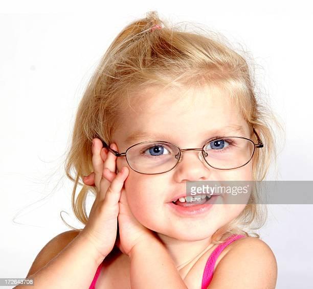 Fille avec des lunettes (1