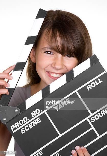 Ragazza con Assicella di film
