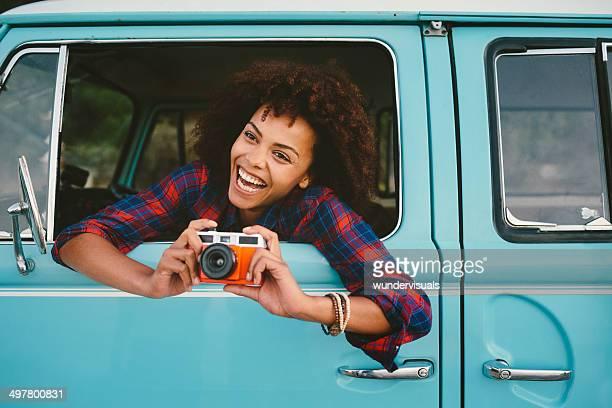 女の子カメラとレトロ