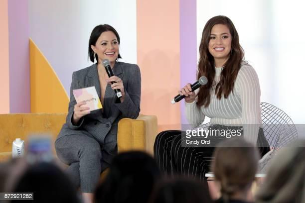 Girlboss Founder CEO Sophia Amoruso and Model Author Ashley Graham speak onstage at Girlboss Rally Hosted By Sophia Amoruso's Girlboss on November 11...