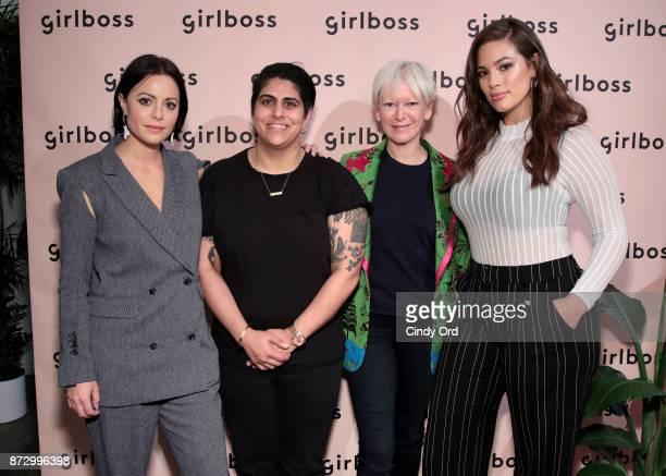 Girlboss Founder CEO Sophia Amoruso Beautycon Media CEO Moj Mahdara Hearst Magazines Chief Content Officer Joanna Coles and Model Author Ashley...