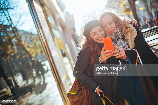 Girlfriend selfie