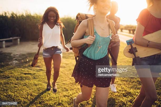Copines sur vos vacances d'été