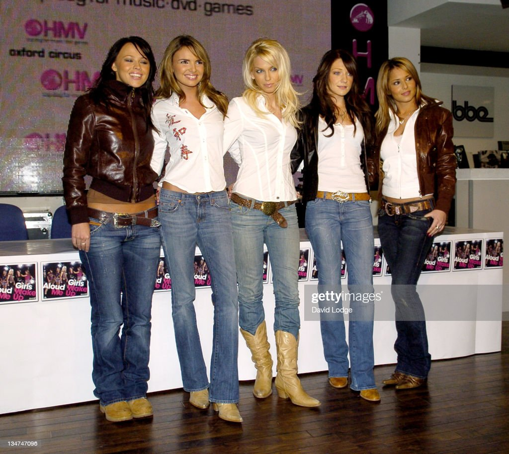 <a gi-track='captionPersonalityLinkClicked' href=/galleries/search?phrase=Girls+Aloud&family=editorial&specificpeople=212984 ng-click='$event.stopPropagation()'>Girls Aloud</a> during <a gi-track='captionPersonalityLinkClicked' href=/galleries/search?phrase=Girls+Aloud&family=editorial&specificpeople=212984 ng-click='$event.stopPropagation()'>Girls Aloud</a> Sign Their Album 'Wake Me Up' - February 22, 2005 at HMV Oxford St in London, England, Great Britain.