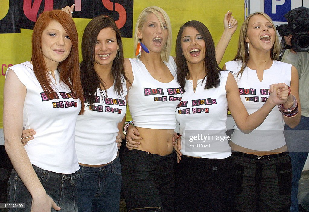 <a gi-track='captionPersonalityLinkClicked' href=/galleries/search?phrase=Girls+Aloud&family=editorial&specificpeople=212984 ng-click='$event.stopPropagation()'>Girls Aloud</a> during Poprivals Photocall at Goswell Road in London, Great Britain.