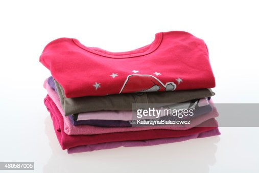 Girl's clothes : Stock Photo
