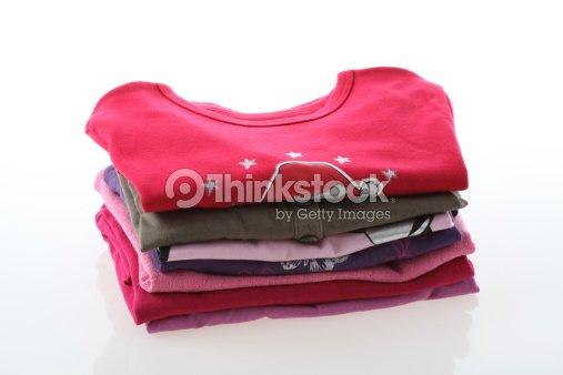 Girl's clothes : Stock Photo
