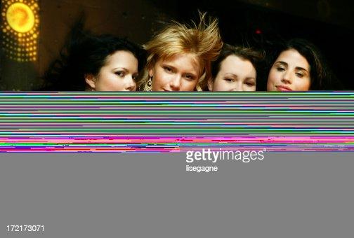Girls dancing : Stock Photo