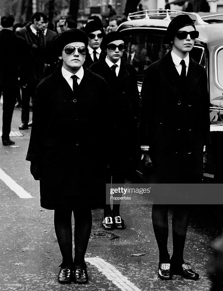 Image result for people in black glasses at funeral