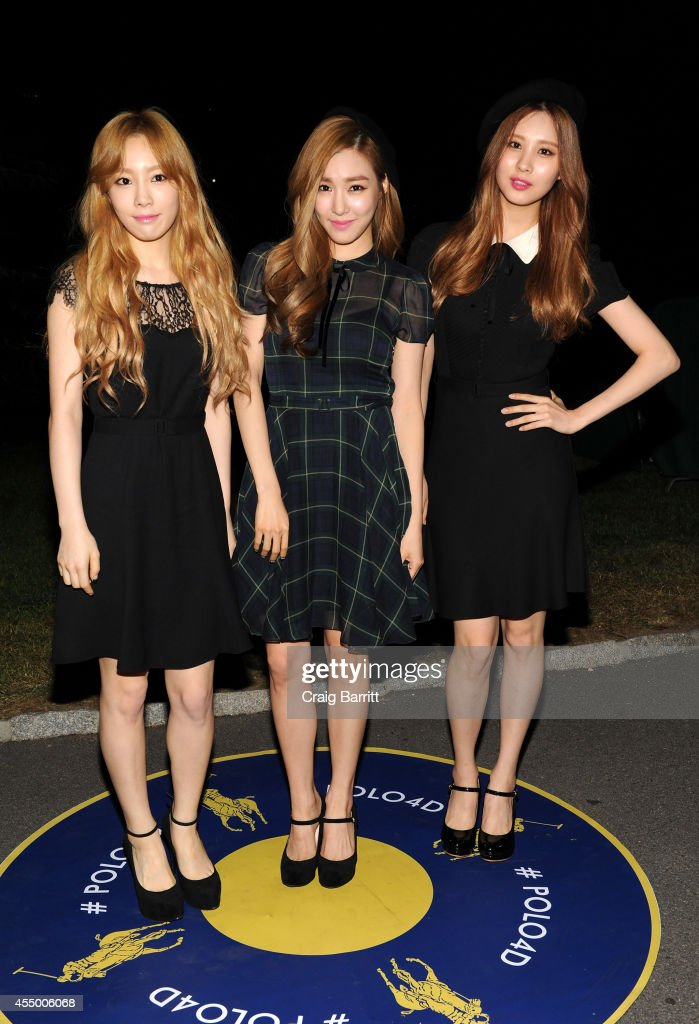 <a gi-track='captionPersonalityLinkClicked' href=/galleries/search?phrase=Girls%27+Generation-TTS&family=editorial&specificpeople=9452392 ng-click='$event.stopPropagation()'>Girls' Generation-TTS</a> attend the Polo Ralph Lauren fashion show during Mercedes-Benz Fashion Week Spring 2015 at Cherry Hill in Central Park on September 8, 2014 in New York City.