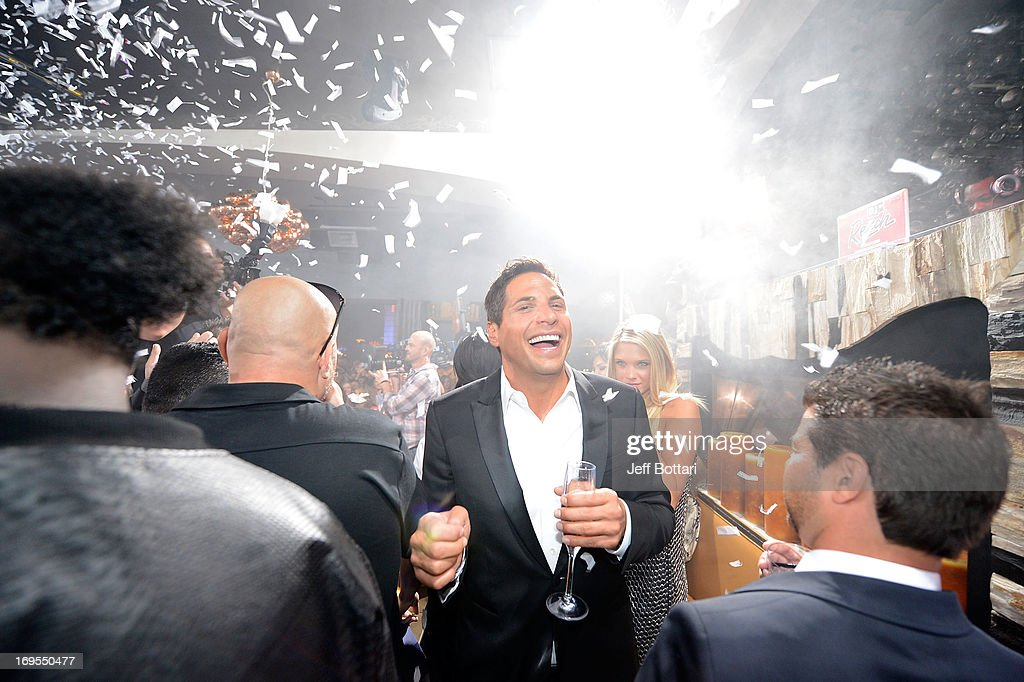 'Girls Gone Wild' founder <a gi-track='captionPersonalityLinkClicked' href=/galleries/search?phrase=Joe+Francis&family=editorial&specificpeople=544470 ng-click='$event.stopPropagation()'>Joe Francis</a> celebrates Scott Disick's 30th birthday at Hyde Bellagio at the Bellagio over Memorial Day weekend on May 26, 2013 in Las Vegas, Nevada.