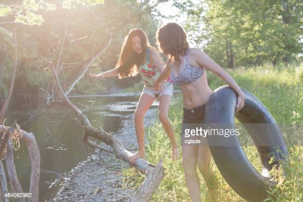 Girls Helping Hand