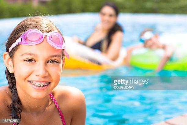 Girls in Swimming pool