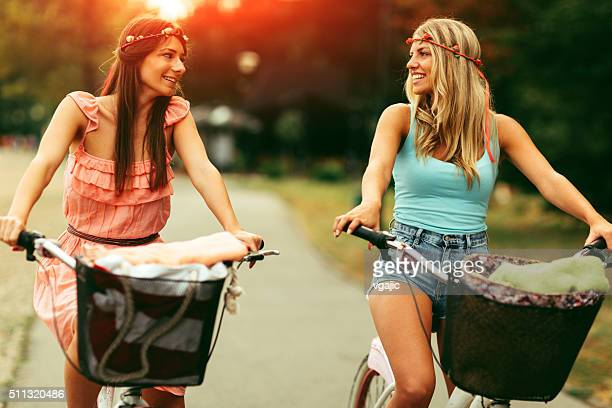 Girls On The Bicycle