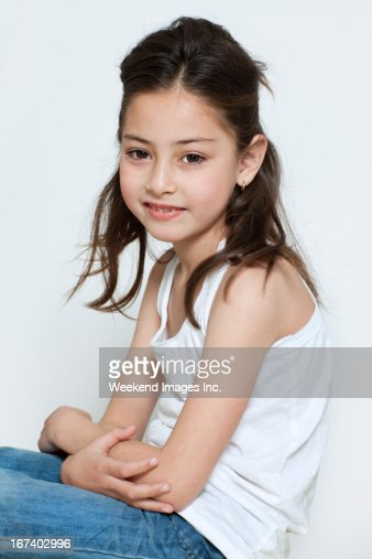 Girl's portrait : Stockfoto
