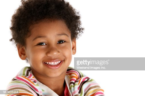 Girl's portrait : Stockfoto