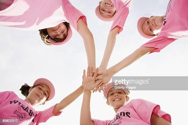 Girl's Soft Ball Team