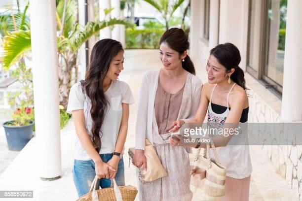 Girls talking