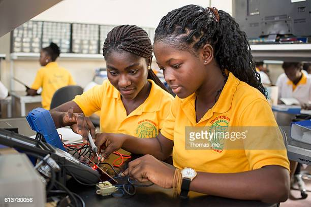 Girls Vocational Training Institute a vocational school for girls Here African girls are taught in electrical engineering on September 08 2016 in...