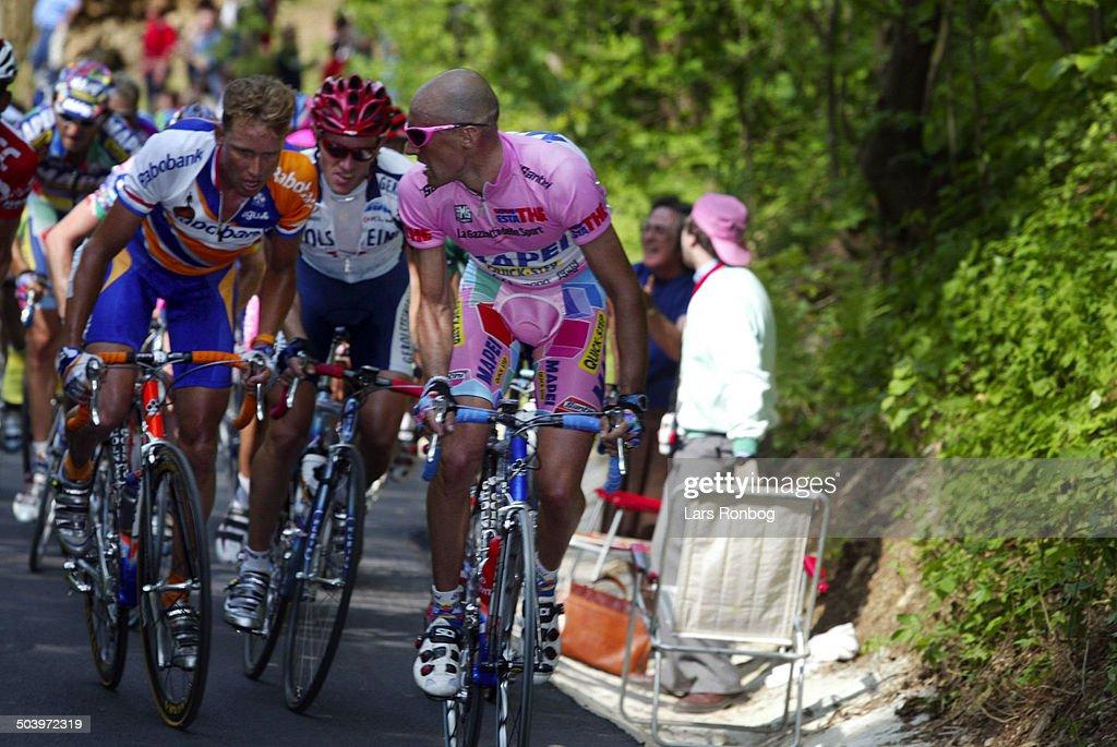 Giro dItalia, Stage 5 - Stefano Garzelli, Mapei - Michael Boogerd, Rabobank.