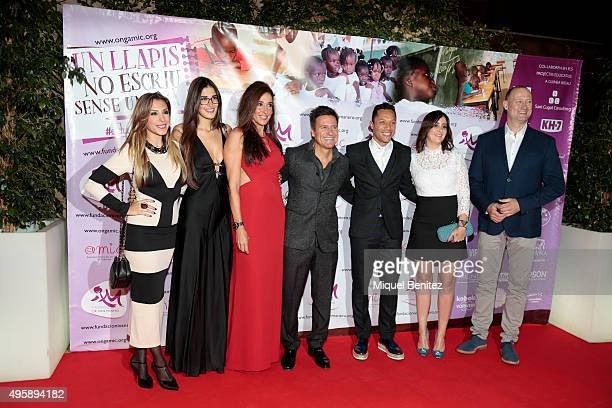 'Gisela' Gisela Llado Lydia Torrent Elsa Anka Ivan Manero Adriano Correira Manuelli and Pedro Garcia Aguado attend the Charity Dinner 'Un Lapiz no...