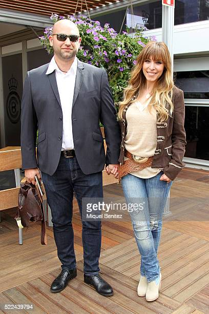 Gisela Llado Canovas 'Gisela' and Jose Angel Ortega attend the Barcelona Open Banc Sabadell 64th Conde de Godo Trophy at Real Club de Tenis Barcelona...