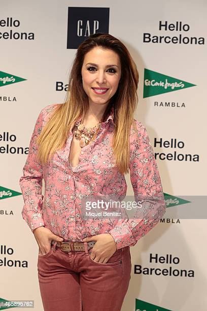 Gisela Llado 'Gisela' attends the GAP Space Inauguration at the Sfera in Placa Catalunya on March 11 2015 in Barcelona Spain