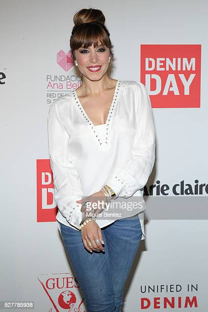 Gisela Llado 'Gisela' attends the Guess Foundation Denim Day Charity at Salt Restaurant W Hotel on May 3 2016 in Barcelona Spain
