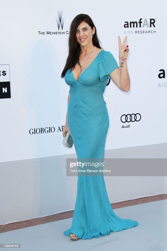 Gisela Marengo attends the amfAR Cinema Against AIDS 2010 at the Hotel du Cap during the 63rd Annual Cannes Film Festival on May 20 2010 in Antibes...