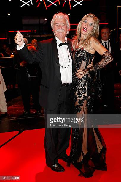 Gisela Muth and Hans Georg Muth attend the aftershow party during the 23rd Opera Gala at Deutsche Oper Berlin on November 5 2016 in Berlin Germany