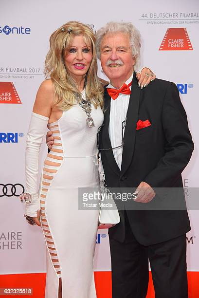 Gisela Muth and her husband HansGeorg Muth attend the German Film Ball 2017 at Hotel Bayerischer Hof on January 21 2017 in Munich Germany