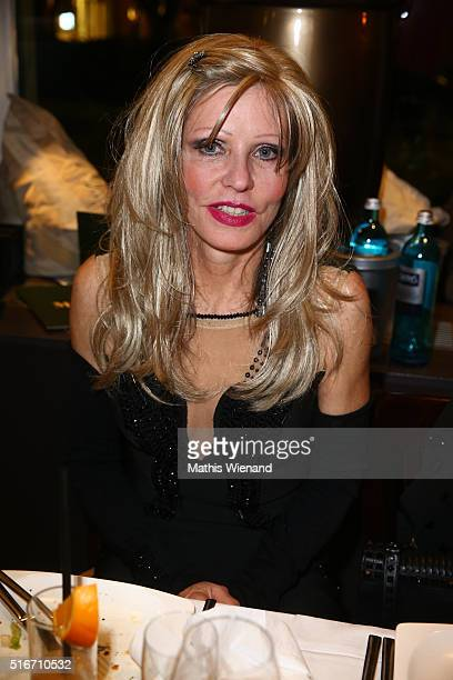 Gisela Muth attends Justus Toussis Birthday Party at Mio3 on March 19 2016 in Wuppertal Germany