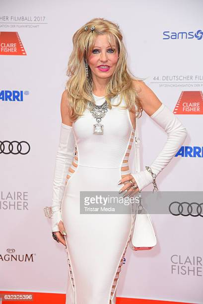 Gisela Muth attends the German Film Ball 2017 at Hotel Bayerischer Hof on January 21 2017 in Munich Germany