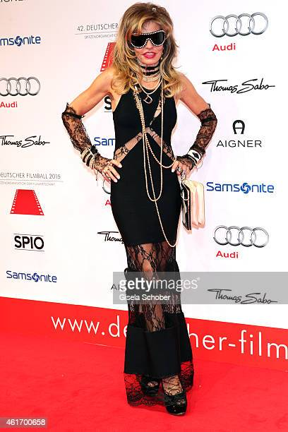 Gisela Muth during the German Filmball 2015 at Hotel Bayerischer Hof on January 17 2015 in Munich Germany