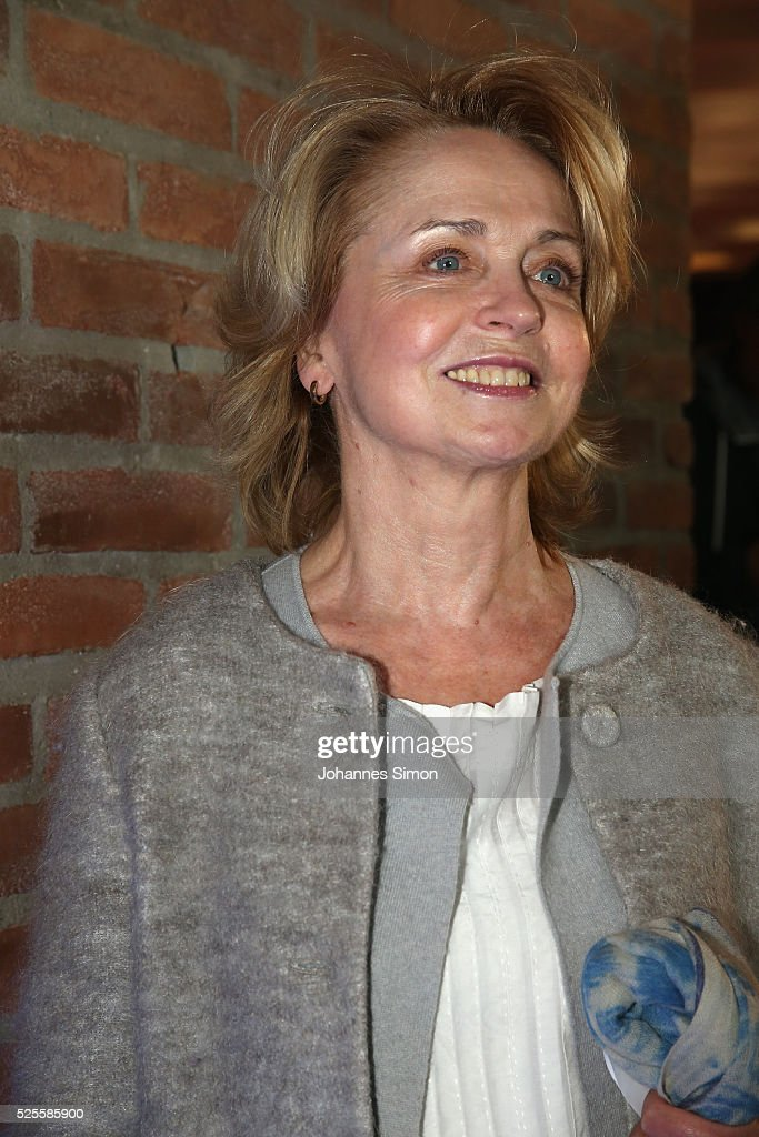Gisela Schneeberger attends the FilmFernsehFonds Bayern celebrations at Gasteig Carl-Orff-Saal on April 28, 2016 in Munich, Germany.