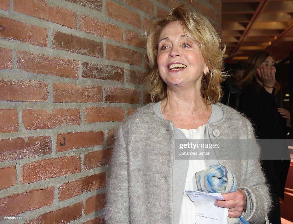 Gisela Schneeberger attends the FilmFernsehFonds Bayern celebrations at Gasteig Carl-Orff-Saal on April 28, 2016 in Munich, Germany.