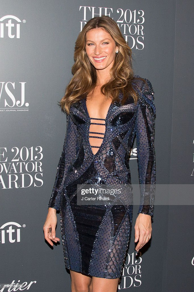 Gisele Bndchen attends the WSJ. Magazine's 'Innovator Of The Year' Awards 2013>> at The Museum of Modern Art on November 6, 2013 in New York City.