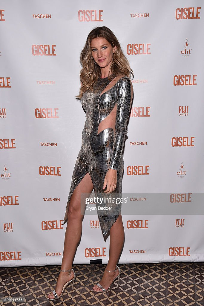 <a gi-track='captionPersonalityLinkClicked' href=/galleries/search?phrase=Gisele+Bundchen&family=editorial&specificpeople=201815 ng-click='$event.stopPropagation()'>Gisele Bundchen</a> attends her Spring Fling book launch on April 30, 2016 in New York City.