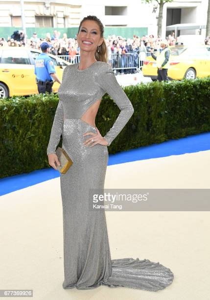 Gisele Bundchen attends the 'Rei Kawakubo/Comme des Garcons Art Of The InBetween' Costume Institute Gala at the Metropolitan Museum of Art on May 1...