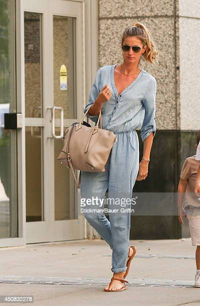 Gisele Bundchen is seen on June 18 2014 in Boston Massachusetts