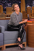Gisele Bundchen Visits 'The Tonight Show Starring Jimmy Fallon' at Rockefeller Center on April 27 2016 in New York City