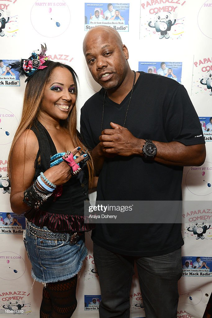 Gisele Rebeiro and Todd Shaw aka Too short attend the 3rd Annual Paparazzi Comedy Awards Supporting Autism Awareness on April 4, 2013 in Los Angeles, California.