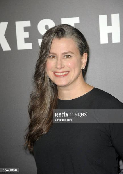Gisele Schmidt attends 'Darkest Hour' New York premiere at Paris Theatre on November 15 2017 in New York City
