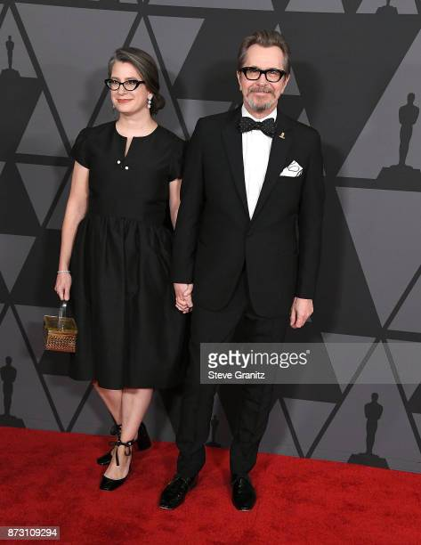 Gisele Schmidt Gary Oldman arrives at the Academy Of Motion Picture Arts And Sciences' 9th Annual Governors Awards at The Ray Dolby Ballroom at...