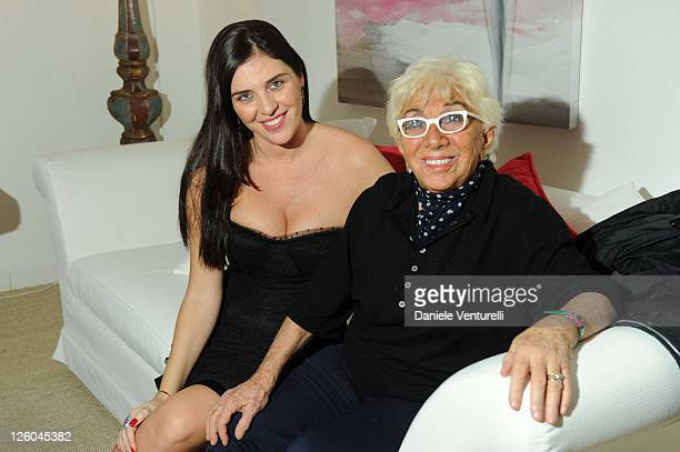 Gisella Marengo and Lina Wertmuller attend the fourth day of the 15th Annual Capri Hollywood International Film Festival on December 30 2010 in Capri...