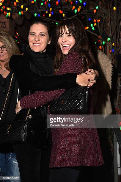Gisella Marengo and Lucila Sola attends AMBI PICTURES Dinner Party during the Los Angeles Italia on February 16 2015 in Los Angeles California