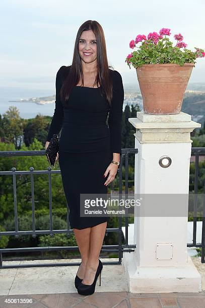 Gisella Marengo attends the 60th Taormina Film Fest on June 14 2014 in Taormina Italy