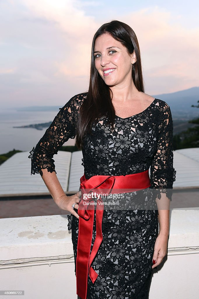 Gisella Marengo attends the 60th Taormina Film Fest on June 15 2014 in Taormina Italy